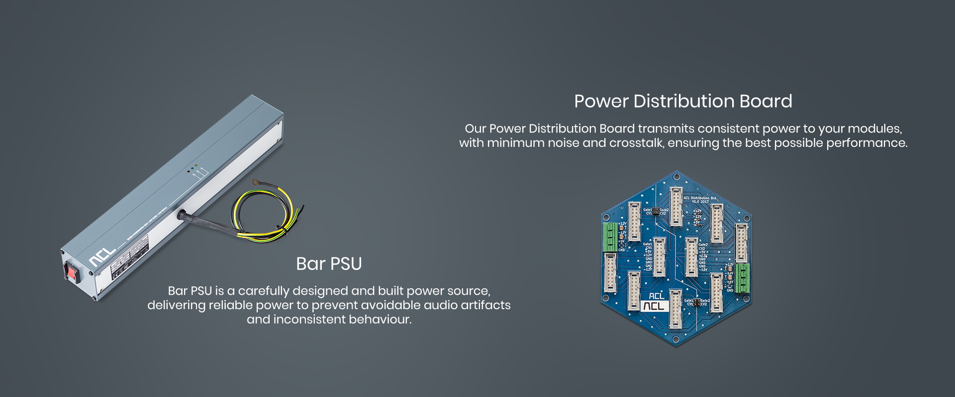 Bar PSU and Distribution Board
